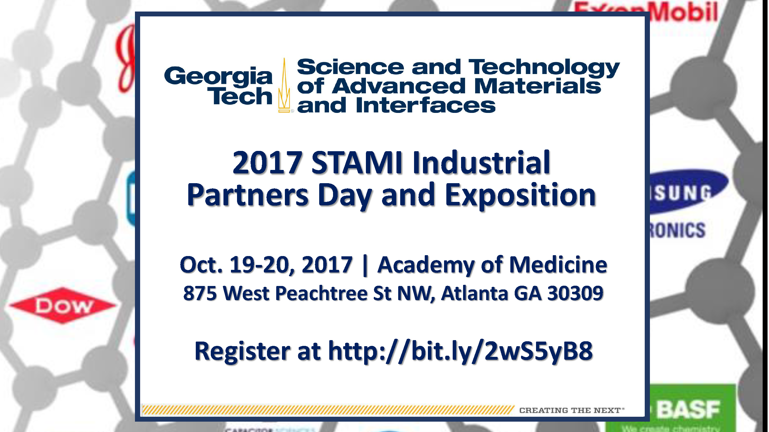 2017 STAMI Industrial Partners Day and Exposition