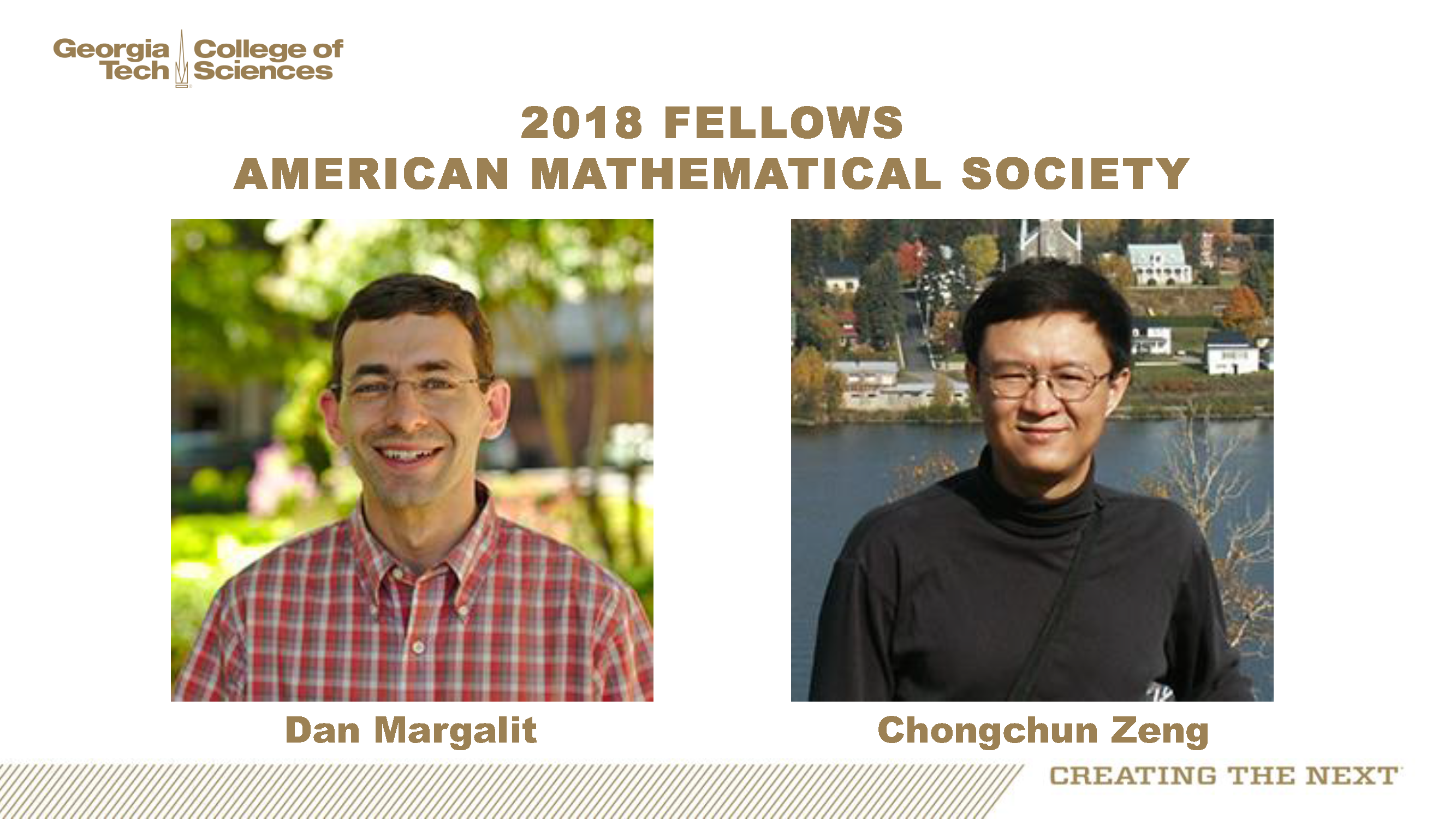 Margalit & Zeng, Fellows of the American Mathematical Society
