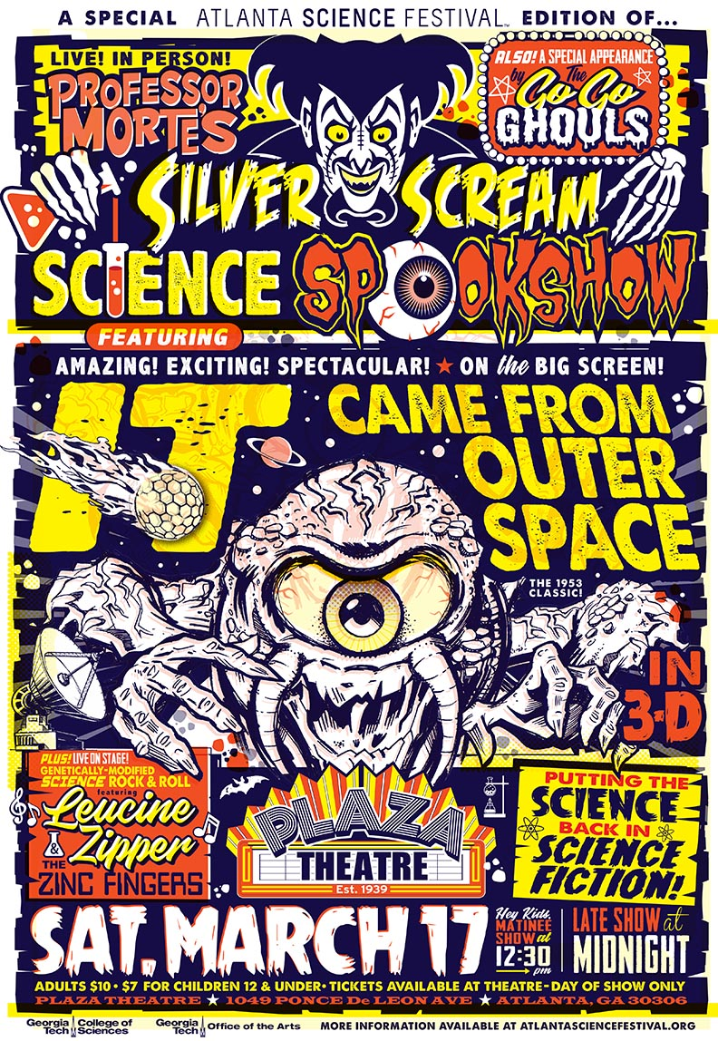 Silver Scream Science Spookshow