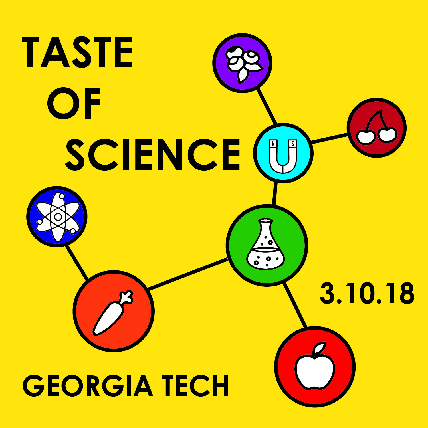 Taste of Science logo
