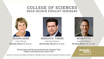 Public Seminars of Dean Search Finalists