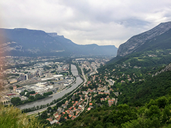 View of Grenoble (by Michael Evans)