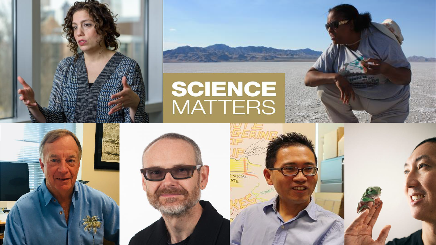 stars of ScienceMatters Season 2 from the College of Sciences