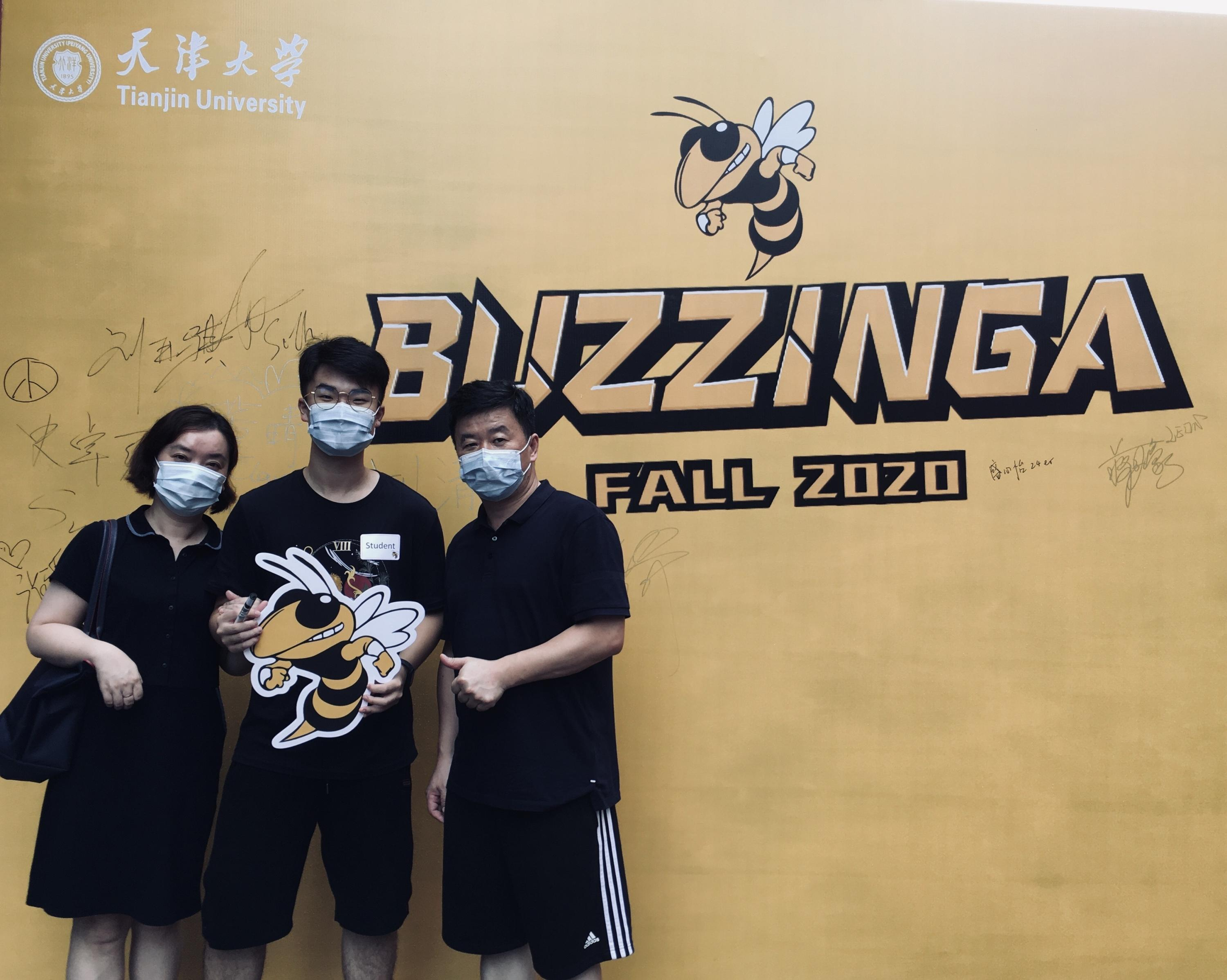First-year students are ready for the fall semester at Georgia Tech-Shenzhen