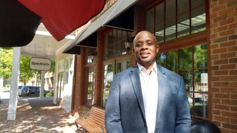 Lewis Wheaton, Smyrna Ward 7 City Council candidate (photo by Haisten Willis)