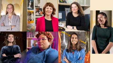 Tech Women Explorers of the Universe (Photos by Allison Carter)