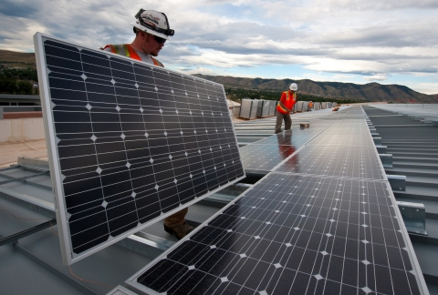 Current, heavy silicon solar panels