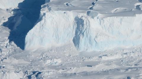 Thwaites Glacier's outer edge