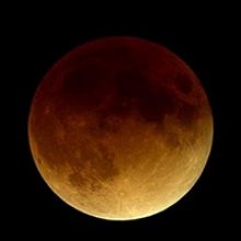A January 2000 total lunar eclipse (Photo by NASA)