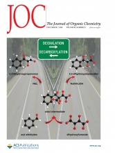 The Journal of Organic Chemistry, December 2018 cover (Courtesy ACS Publications)
