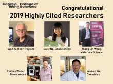 2019 Highly Cited Researchers from the College of Sciences