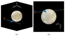 Galileo's close encounter with a Europa water plume