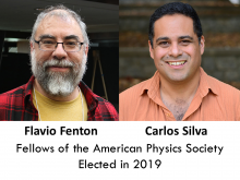 American Physics Society Fellows Flavio Fenton and Carlos Silva