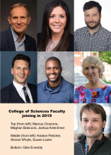 Faculty who joined in 2019