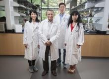 Mostafa El-Sayed's cancer research team