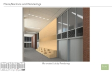 Howey Physics renovation lobby rendering