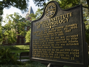 Georgia Tech Historical Marker