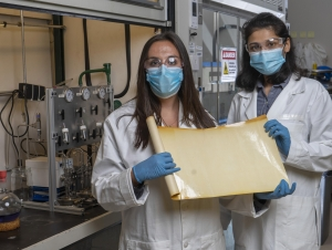 Membrane material could reduce carbon emissions