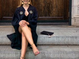 Jessica Kilpatrick is a graduating with a degree in psychology and a minor in health and medical sciences.