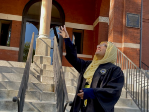Maria Zulfiqar is graduating with a degree in psychology with the research option.