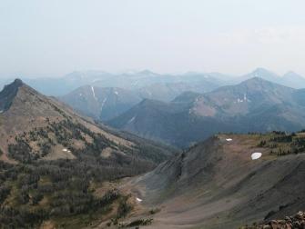 Yellowstone National Park and the Absaroka Range via Avalanche Peak summit, July 2021 (Jess Hunt-Ralston, Georgia Tech)